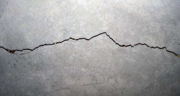 Basement Floor Crack