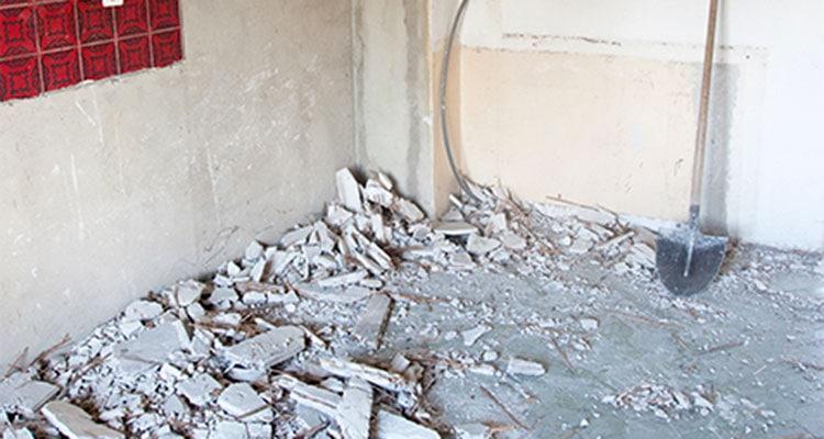 Basement Dust and Debris