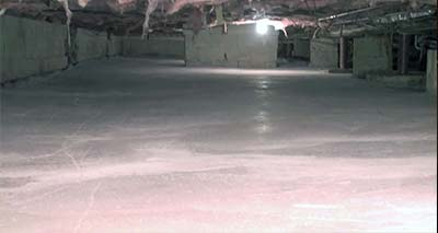 Crawl Space After Installation