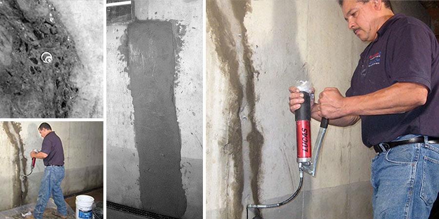 water in basement fix