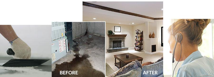 basement waterproofing customer service