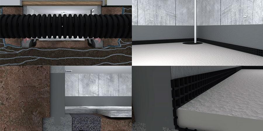 perimeter drain system