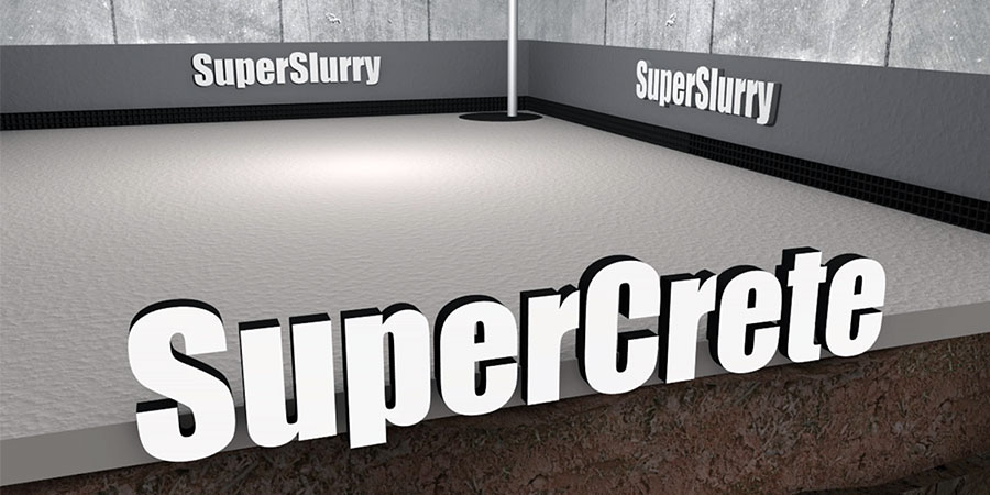 SuperCrete-SuperSlurry 3D IMAGE