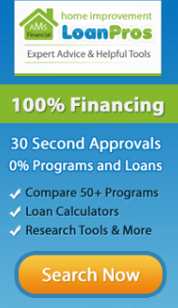 Home Improvement Financing Available