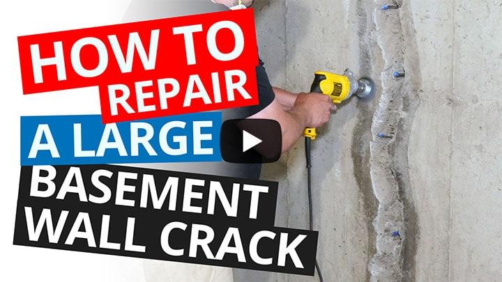Basement Wall Crack