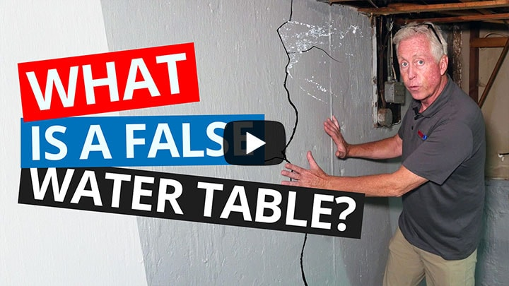 false water table video on youtube
