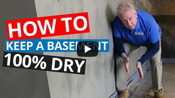 waterproofing basement walls from inside