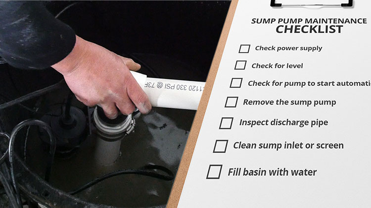 sump pump maintenance