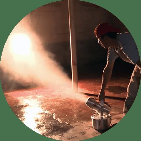 sanitizing & disinfection fogger