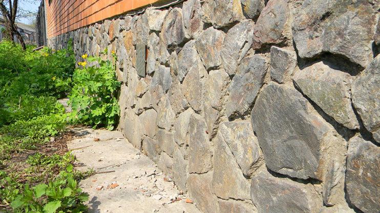 Exterior Stone Foundation